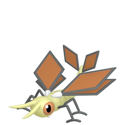 Artwork shiny de Vibraninf Pokémon Épée et Bouclier