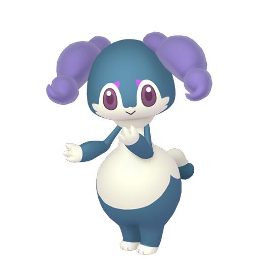 Artwork shiny de Wimessir ♀ Pokémon Épée et Bouclier