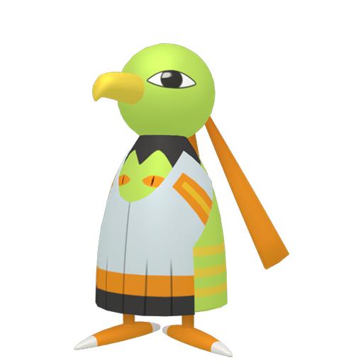 Artwork shiny de Xatu Pokémon Épée et Bouclier