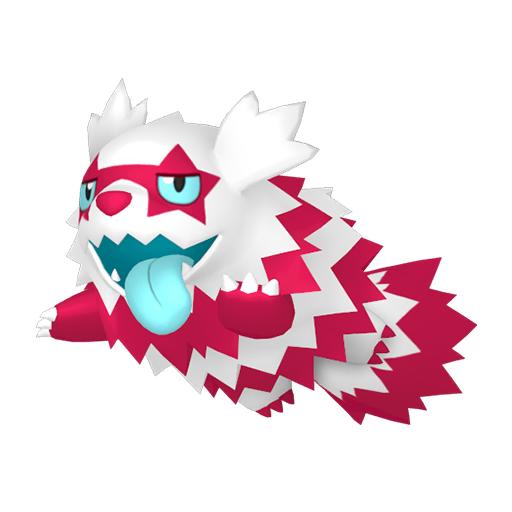 Artwork shiny de Zigzaton de Galar Pokémon Épée et Bouclier