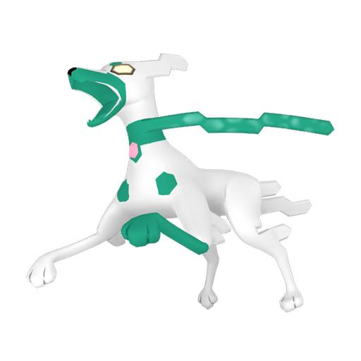 Artwork shiny de Zygarde forme 10% Pokémon Épée et Bouclier