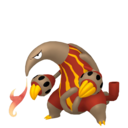 Modèle de Aflamanoir - Pokémon GO