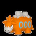 Modèle de Camérupt - Pokémon GO