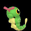 Modèle de Chenipan - Pokémon GO