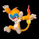 Modèle de Chimpenfeu - Pokémon GO