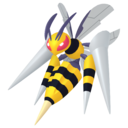 Modèle de Méga-Dardargnan - Pokémon GO