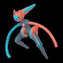 Modèle de Deoxys forme Vitesse - Pokémon GO