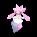 Modèle de Diancie - Pokémon GO