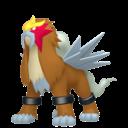 Modèle de Entei - Pokémon GO