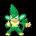Modèle de Feuiloutan - Pokémon GO