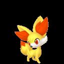 Modèle de Feunnec - Pokémon GO