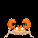 Modèle de Krabby - Pokémon GO