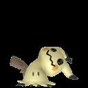 Modèle de Mimiqui forme Démasquée - Pokémon GO