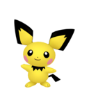 Modèle de Pichu - Pokémon GO