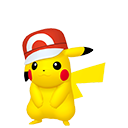 Modèle de Pikachu Casquette Kalos - Pokémon GO
