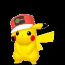Modèle de Pikachu Casquette Monde - Pokémon GO