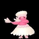 Modèle de Plumeline forme Hula - Pokémon GO