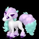 Modèle de Ponyta de Galar - Pokémon GO