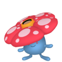 Fiche Pokédex de Rafflesia / Vileplume