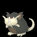 Modèle de Rattatac d'Alola - Pokémon GO
