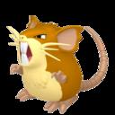 Modèle de Rattatac - Pokémon GO