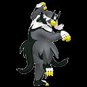 Modèle de Shifours forme Mille Poings - Pokémon GO