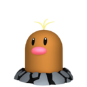 Modèle de Taupiqueur d'Alola - Pokémon GO