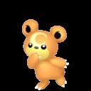 Modèle de Teddiursa - Pokémon GO