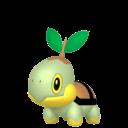 Modèle de Tortipouss - Pokémon GO