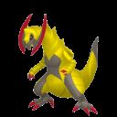 Fiche Pokédex de Tranchodon / Haxorus