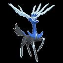 Modèle de Xerneas forme Paisible - Pokémon GO