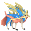 Artwork normal de Zacian forme Épée Suprême