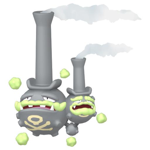 Modèle de Smogogo de Galar - Pokémon GO