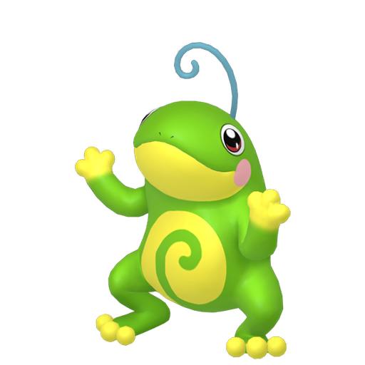 Modèle de Tarpaud - Pokémon GO