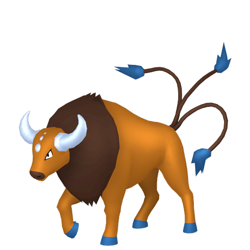 Modèle de Tauros - Pokémon GO
