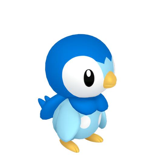 Modèle de Tiplouf - Pokémon GO