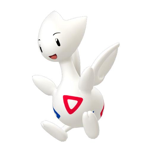 Modèle de Togetic - Pokémon GO