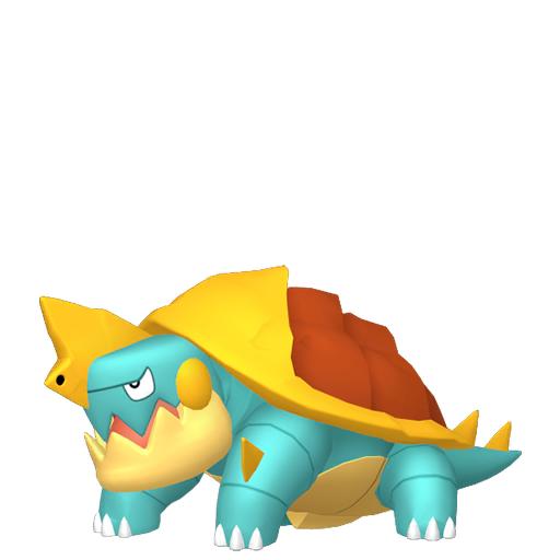Modèle de Torgamord - Pokémon GO