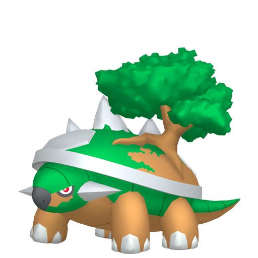 Modèle de Torterra - Pokémon GO
