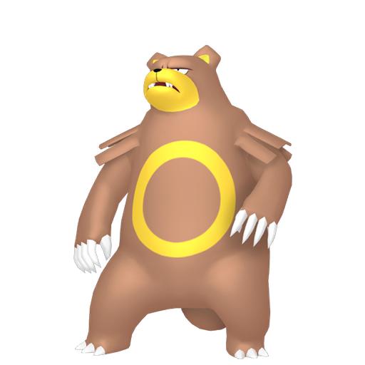 Modèle de Ursaring - Pokémon GO