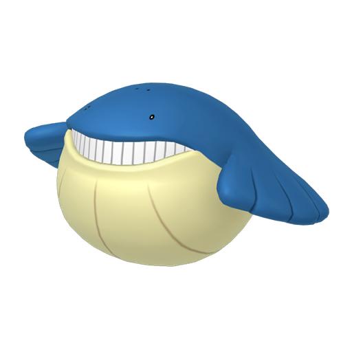 Modèle de Wailmer - Pokémon GO