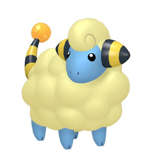 Modèle de Wattouat - Pokémon GO
