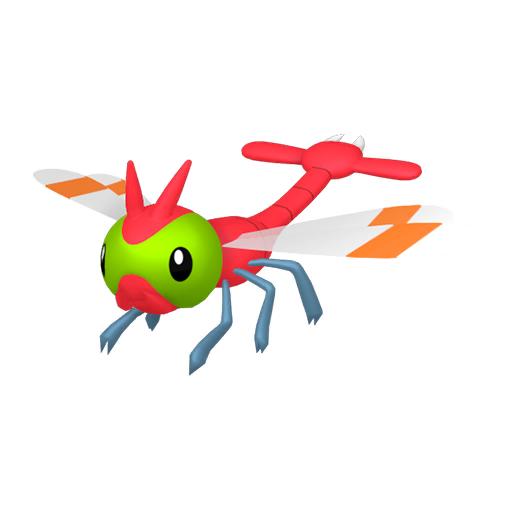 Modèle de Yanma - Pokémon GO