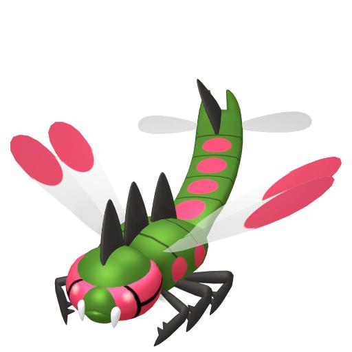 Modèle de Yanmega - Pokémon GO