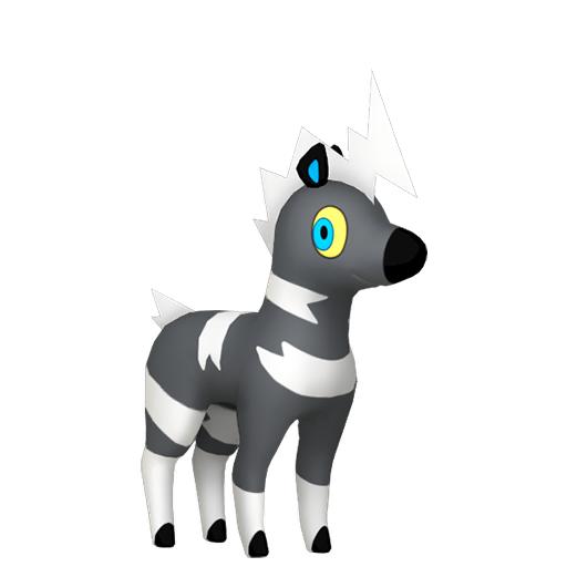 Modèle de Zébibron - Pokémon GO