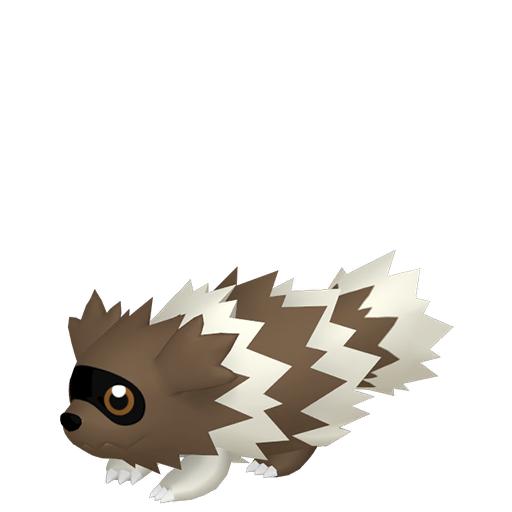 Modèle de Zigzaton - Pokémon GO