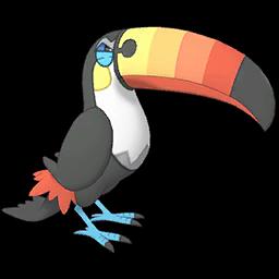 Duo Kahili et Bazoucan sur Pokémon Masters