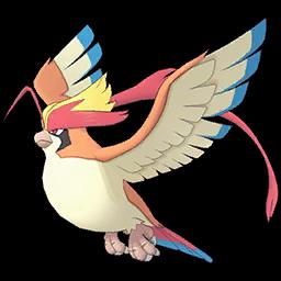 Duo Blue et Méga-Roucarnage sur Pokémon Masters