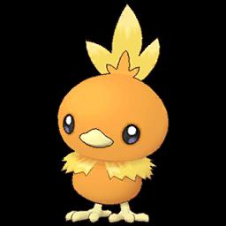 Duo Joueur et Poussifeu sur Pokémon Masters