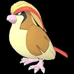 Blue et Roucarnage / Méga-Roucarnage Pokémon Masters
